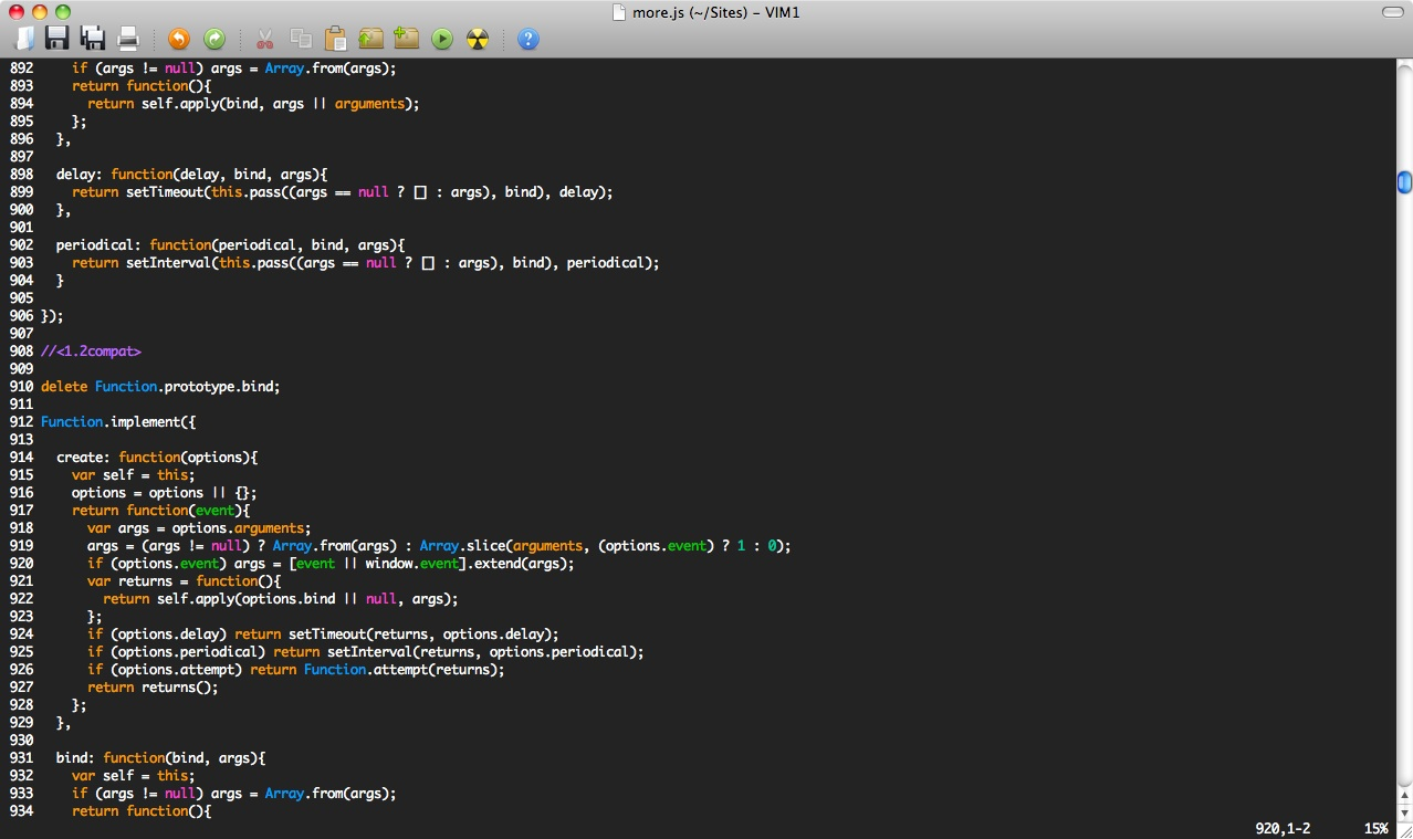 Why don't most vim color schemes look as nice as the screenshot.